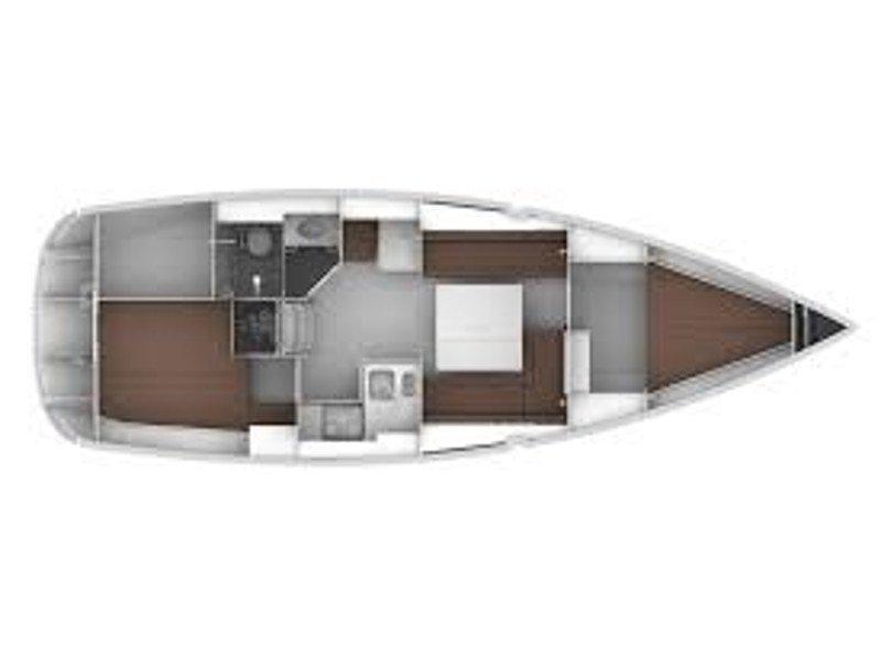 Bavaria Cruiser 34 Style (Lina) Plan image - 1