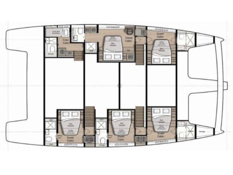 Sunreef 60 (Amaya) Plan image - 2