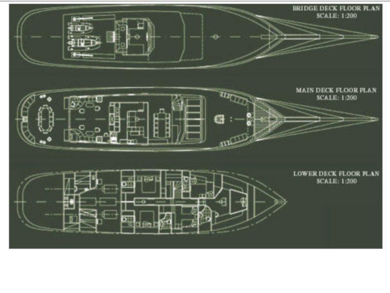 Motor sailer 1 (Arktos) Plan image - 6