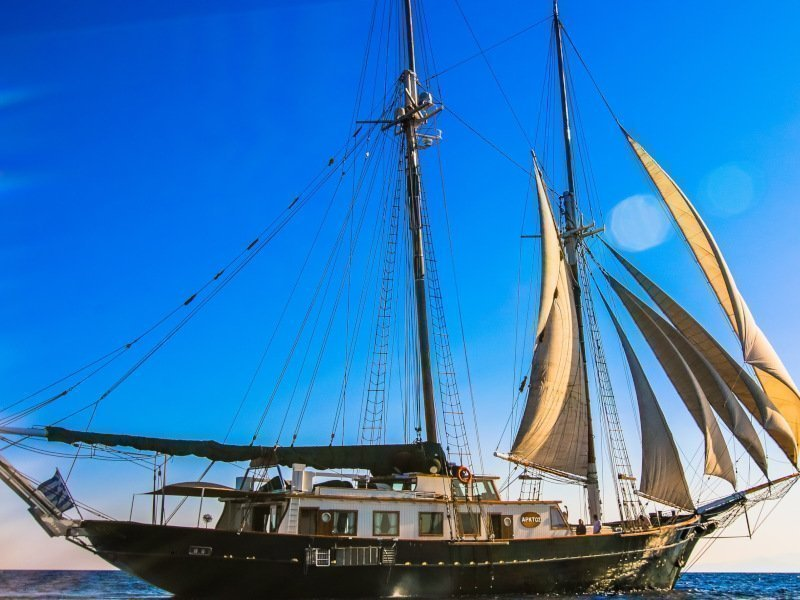 Motor sailer 1 (Arktos)  - 1