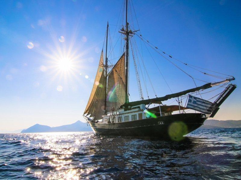 Motor sailer 1 (Arktos)  - 5