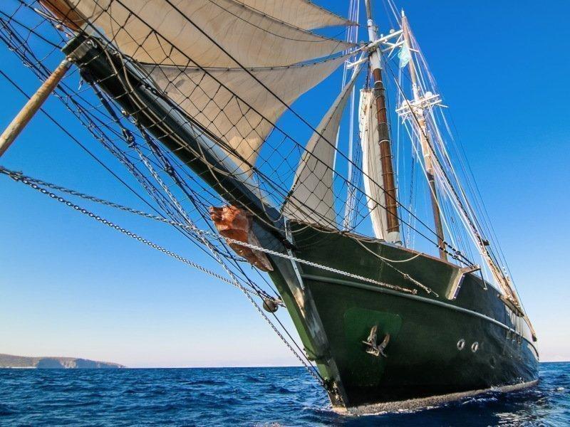 Motor sailer 1 (Arktos)  - 3