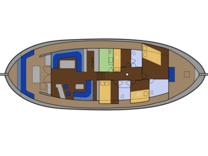 Motor sailer 2 (Achilleas) Plan image - 4