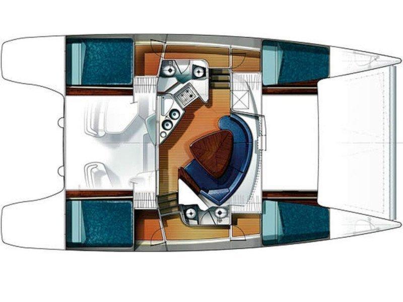 Lavezzi 40 (Daniela) Plan image - 4