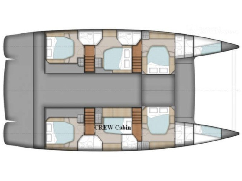 Sanya 57 - 5 cabi version (Highjinks II) Plan image - 7