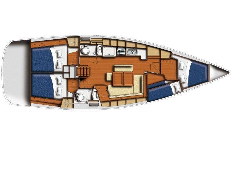 Oceanis 43 (Oasis) Plan image - 6