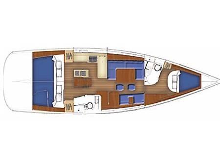 Oceanis 40 (Liberty) Plan image - 20