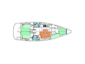 Oceanis 43 (Cote D'Azur) Plan image - 5