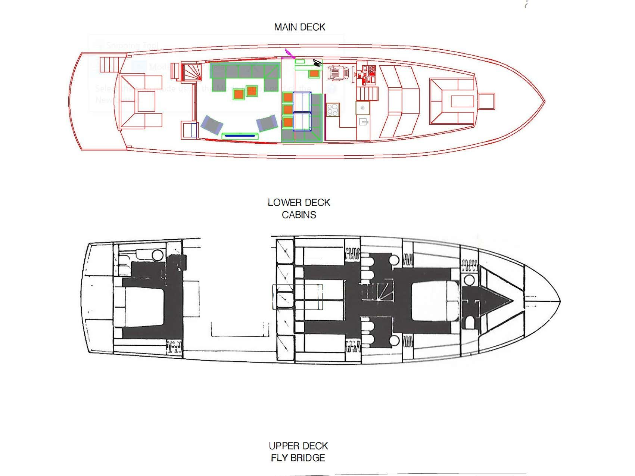 Maiora Renaissance 66/70ft (Dini) Plan image - 21