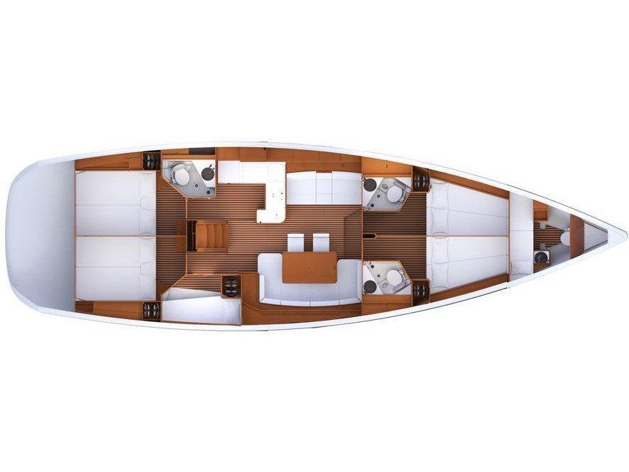 Jeanneau 53 (Captain Hook) Plan image - 2
