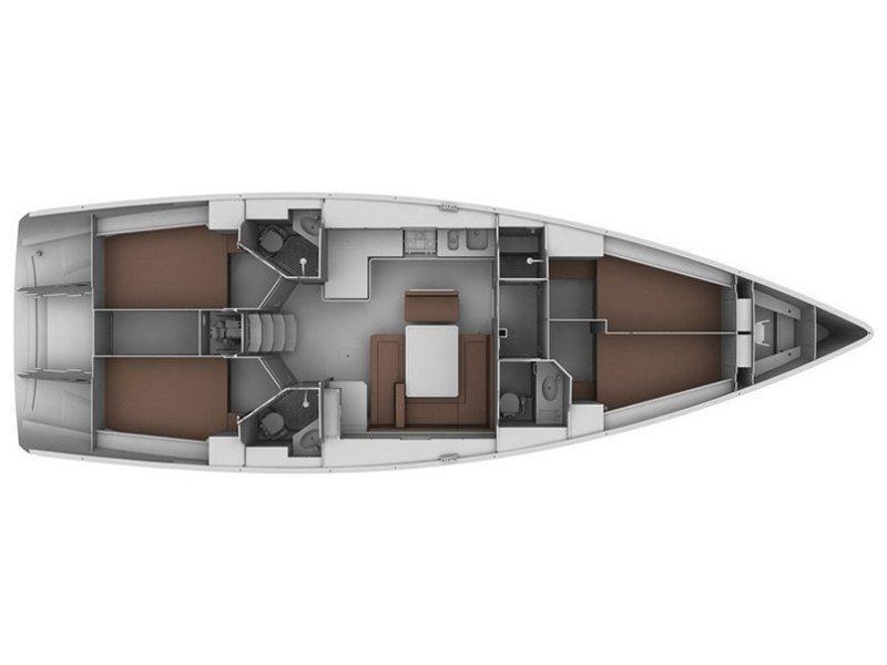 Bavaria Cruiser 45 (Elise -Bavaria 45 Cruiser) Plan image - 26