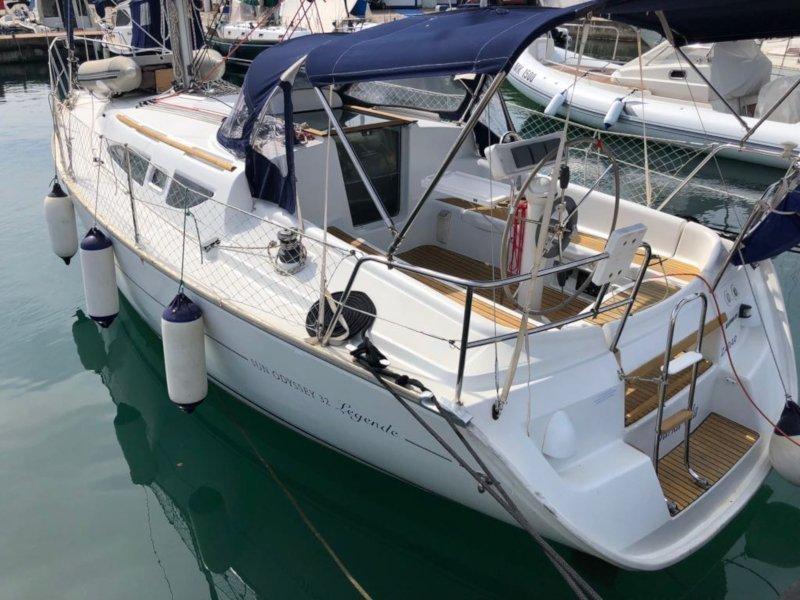 Sun Odyssey 32 (Barka Vela)  - 10