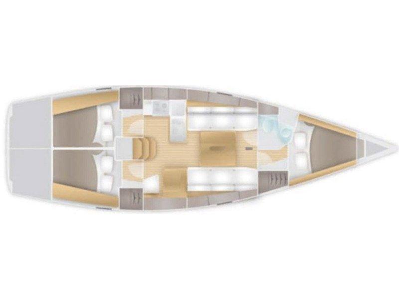 Salona 38 (Rum) Plan image - 1
