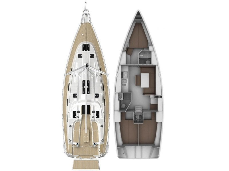 Bavaria 40 Cruiser S (Screwdriver) Plan image - 2