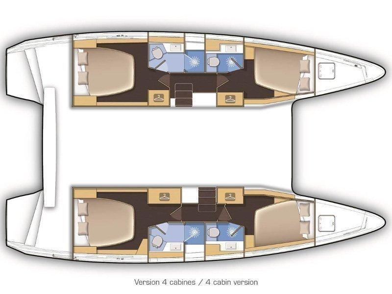 Lagoon 42 (ARTEMIS) Plan image - 7