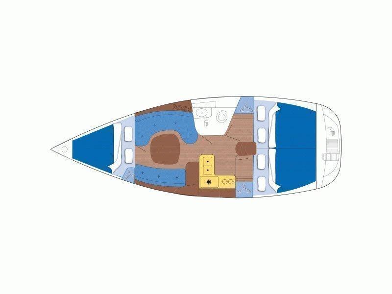 Oceanis 331 (Aloha) Plan image - 1