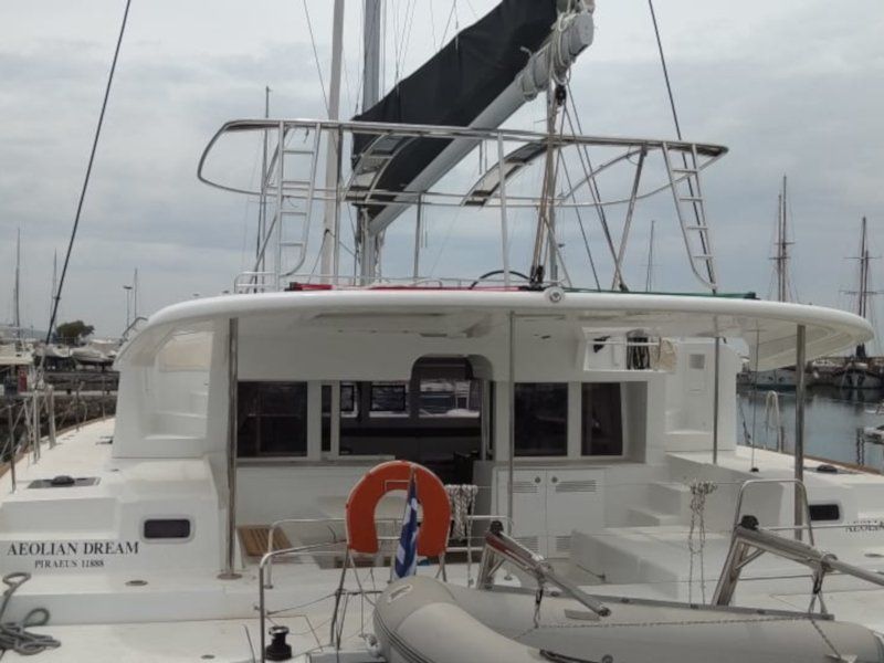 Lagoon 450  Flybridge (Aeolian Dream)  - 13