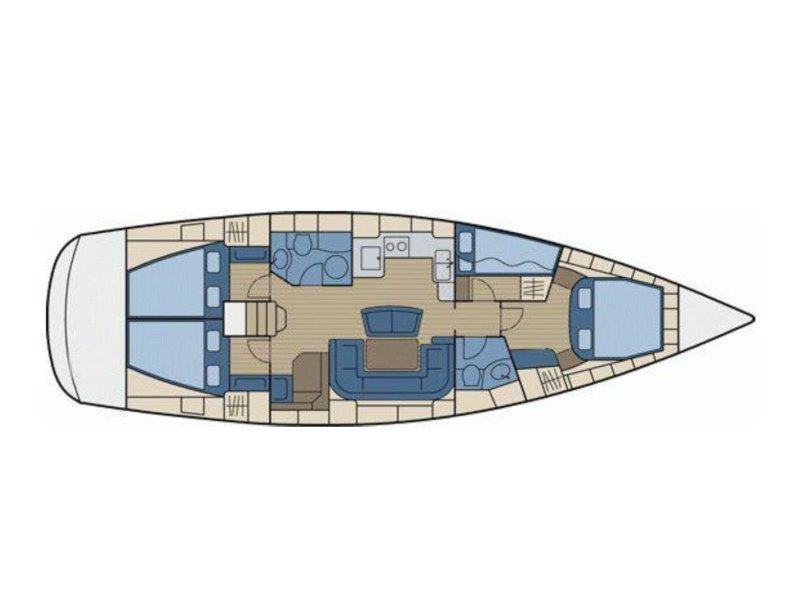 Bavaria 46 Cruiser (Uhuru) Plan image - 7