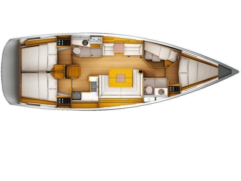 Sun Odyssey 439 (Vasco) Plan image - 4