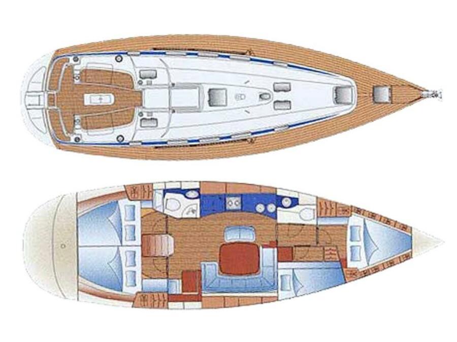 Bavaria 44 (Anastasia) Plan image - 3