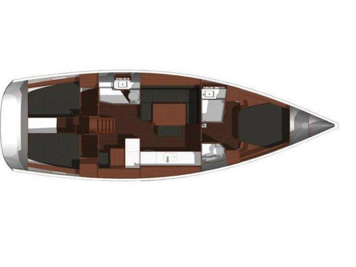 Dufour 450 GL (Eagle) Plan image - 1