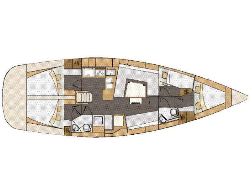 Elan 45 Impression (Amiya) Plan image - 12