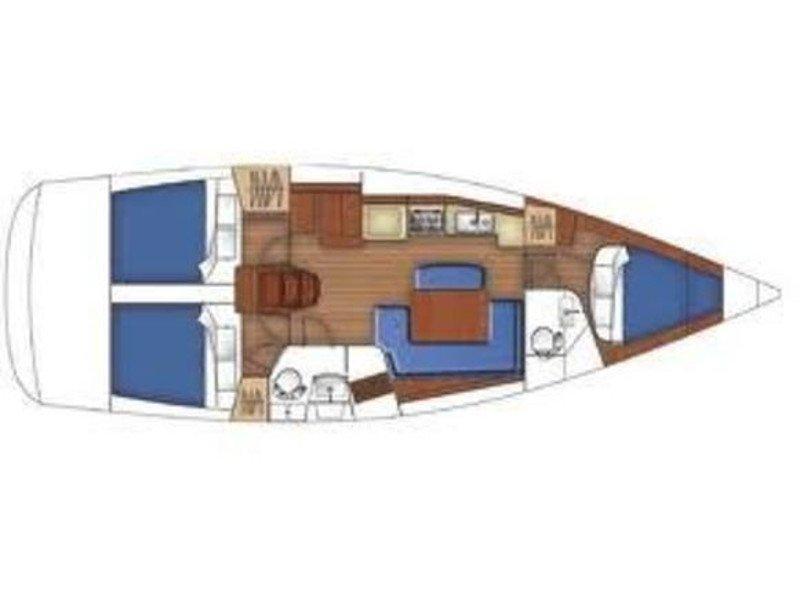 Oceanis 40 (ANASSA) Plan image - 12