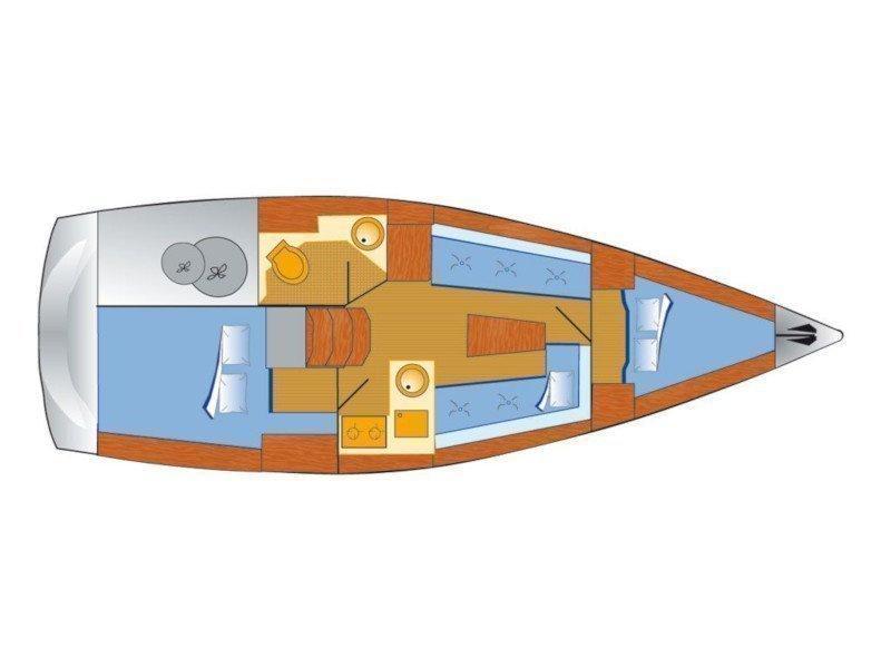 Bavaria Cruiser 33 (Chili) Plan image - 6