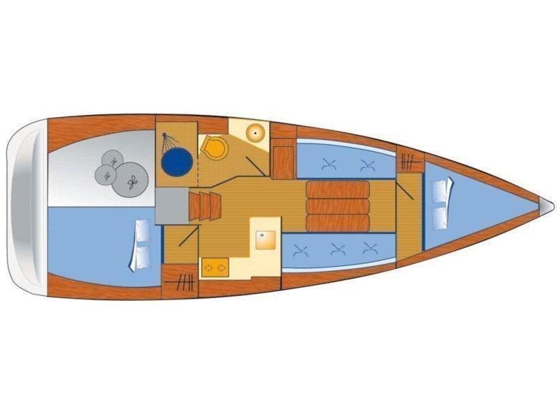 Sun Odyssey 349 (Marie) Plan image - 6