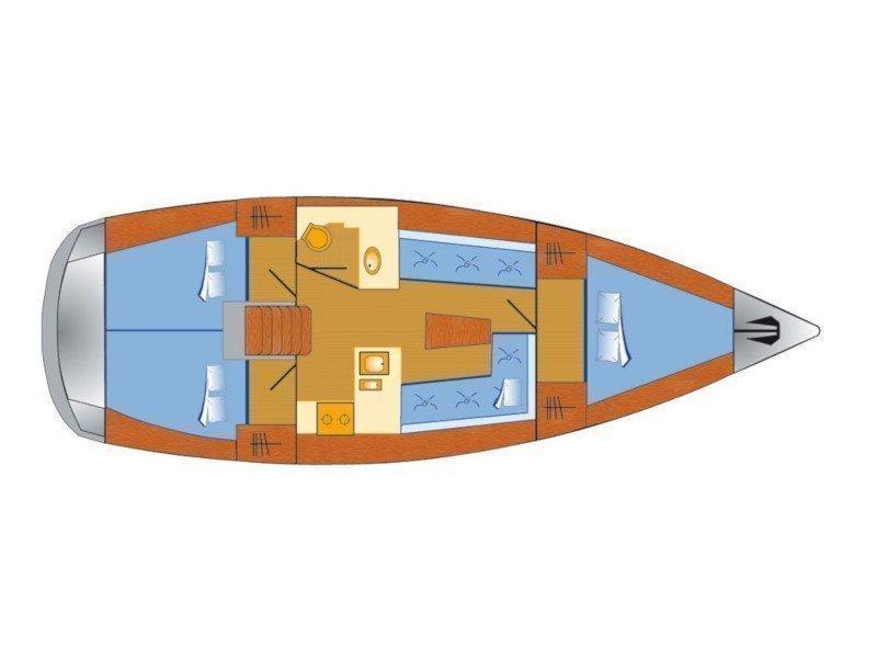 Bavaria Cruiser 37 (Bibi) Plan image - 6