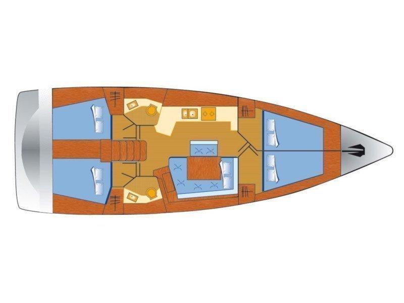 Oceanis 45 (Phantom) Plan image - 3