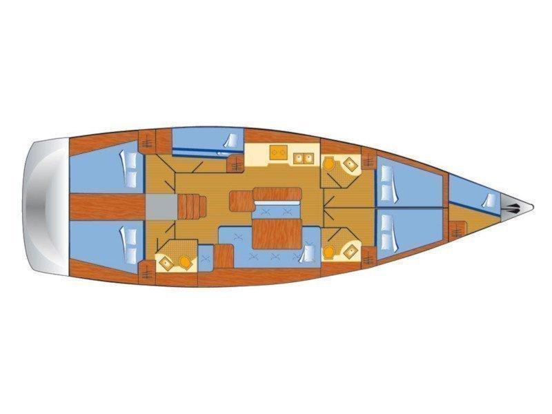 Oceanis 50 (Big Tasty) Plan image - 5