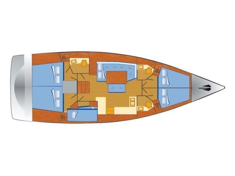 Oceanis 48 (Lukas) Plan image - 1