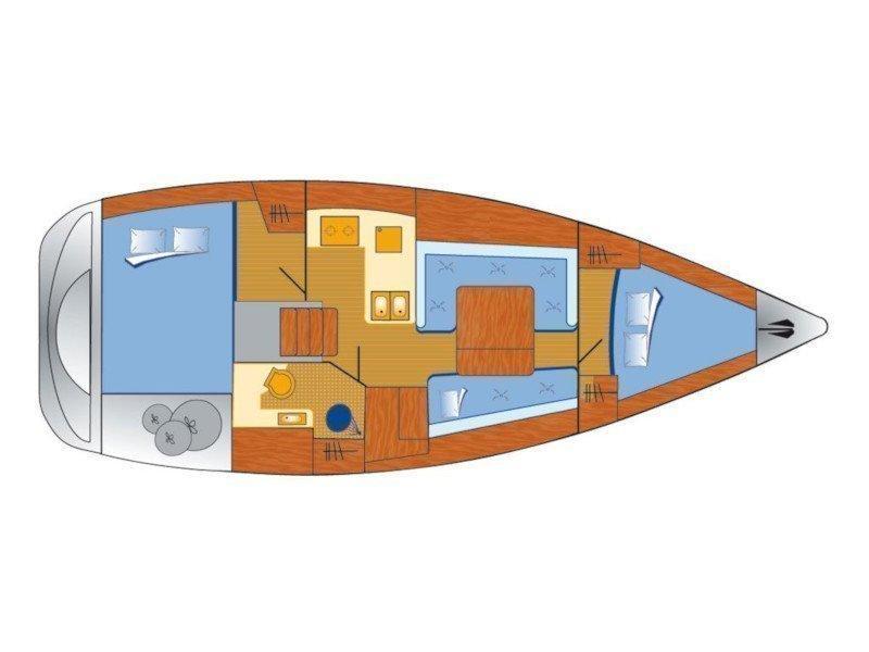 Oceanis 34 (Ali) Plan image - 4