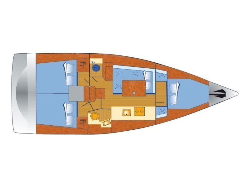 Oceanis 38 (Auxelle) Plan image - 3
