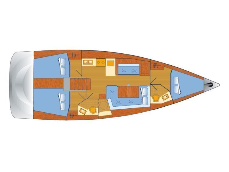 Oceanis 41 (Buddy) Plan image - 1