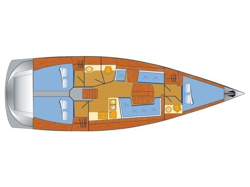 Dehler 42 (Ella) Plan image - 5