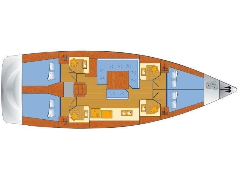 Sun Odyssey 479 (Anna) Plan image - 5