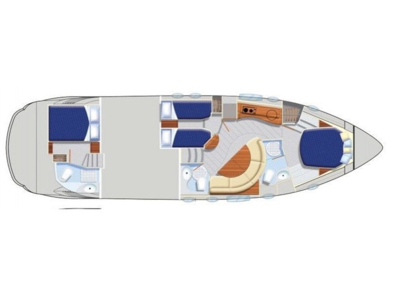 Pershing 46 (Karla Jane) Plan image - 4