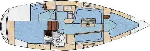 Moody 336 (Ariadne) Interior image - 9