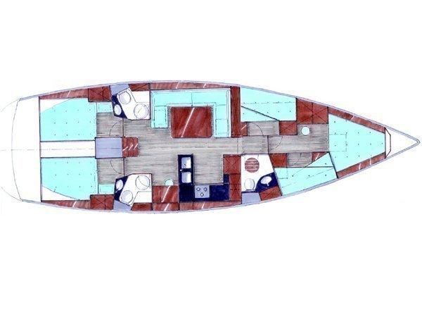 Bavaria 51 Cruiser (Lady Rose) Plan image - 4