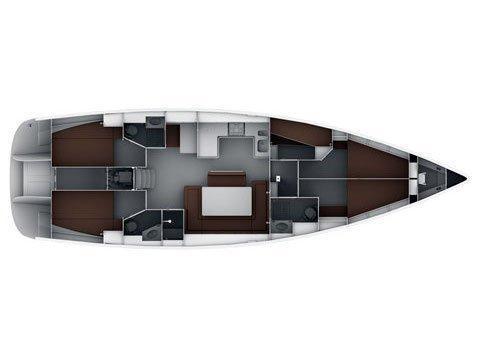 Bavaria Cruiser 50 (Fija) Plan image - 4