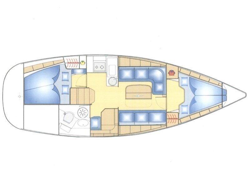 Bavaria 33 Cruiser (Konstantinos) Plan image - 2