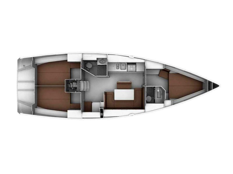 Bavaria Cruiser 40 (Monika) Plan image - 3
