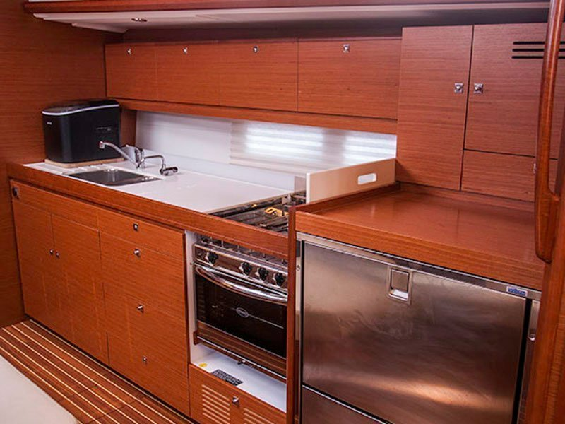 Dufour 460 Grand Large (CETO (aircondition, generator, blue hull))  - 18