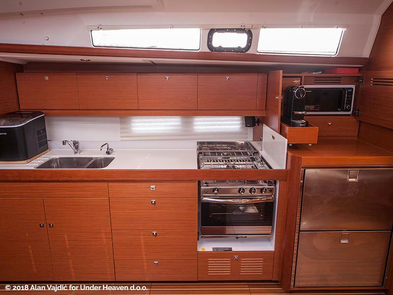 Dufour 460 Grand Large (CETO (aircondition, generator, blue hull))  - 16