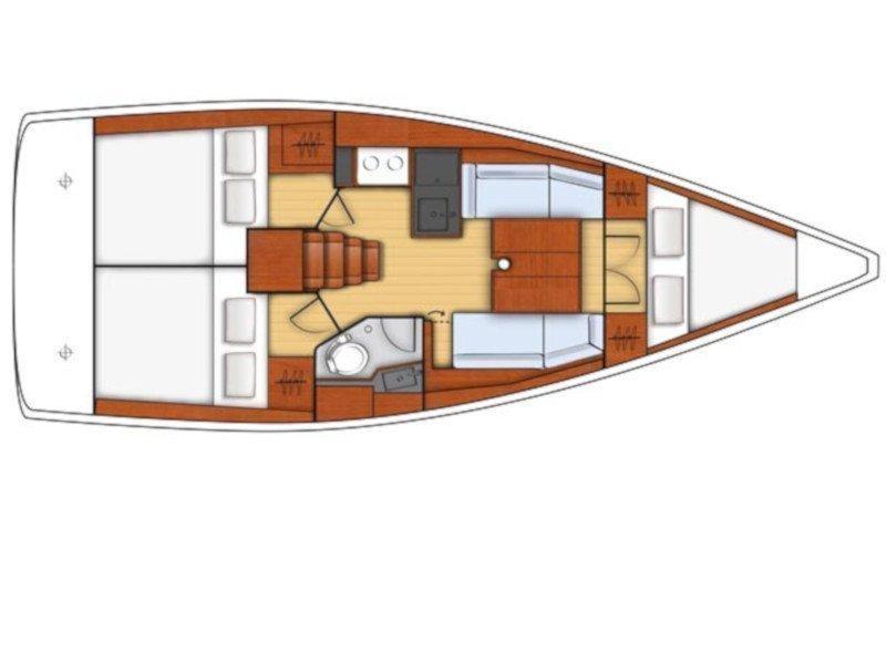 Oceanis 35.1 (Altamarea) Plan image - 5