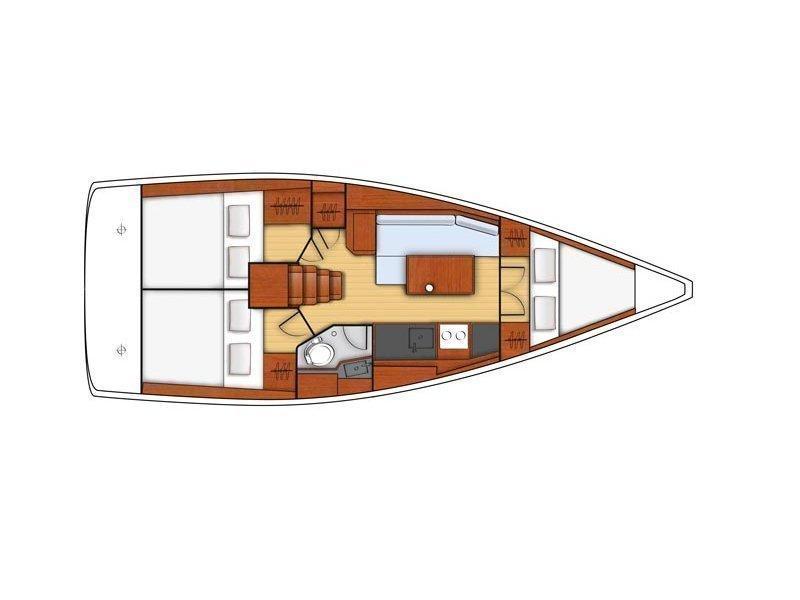 Oceanis 35.1 (Hierà) Plan image - 5