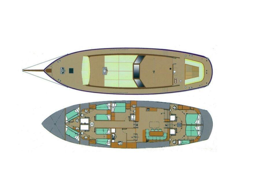 Neta Marine Ketch (Montecristo) Plan image - 12