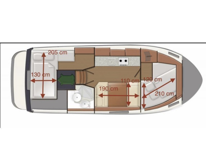 Delphia Escape 800 (Gota 3) Plan image - 1